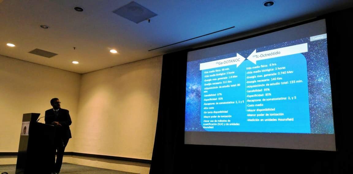 """Técnico Radiólogo de Verken Lab presente en el """"IX Curso Internacional de PET/CT""""."""